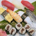 紀八寿司 - 並にぎり