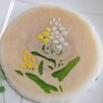 鉢の木 - 2014/3/30 三寸丸 菜の花