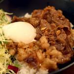 カフェフェリーチェ - 近江牛すき焼き丼