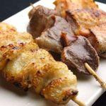 安藤 - 料理写真:山地鶏の焼鳥各種