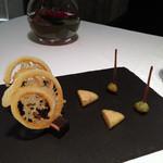 ル ポン ド シエル - とりあえずのチーズ盛り合わせ