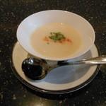 和楽 - カブのクリームスープ、これ凄く美味しい♪