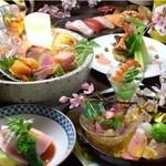 鳴海 - 料理写真:旬の食材でおもてなし致します。