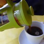 ビストロ&米沢牛 西山亭 - プレスコーヒー
