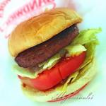 ビッグバーガー - 料理写真:ビッグバーガー