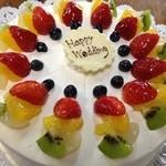 八千代 - ケーキ