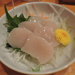 食房 番々 - 生ホタテ酢の物 2014.4