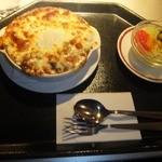 フィッシュオンチップス - シーフード入り焼きカレー