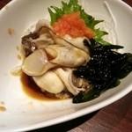 うまいっしょ家 - 牡蠣ポン酢