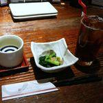 炙屋十兵衛 - 田酒・烏龍茶で乾杯!2014/3