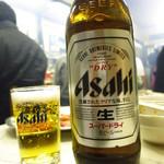つるや - 瓶ビール630円