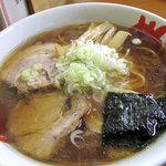 麺篤屋 - 正油らーめん650円。