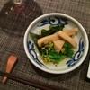 江戸前  一朗 - 料理写真:突き出しからしてもう美味しい。フキ、筍、菜の花、ワカメの炊き合わせ。春が薫ります♪