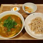 自然派カフェ 米野かりぃ堂 - スープカリー?セット