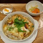 自然派カフェ 米野かりぃ堂 - 焼カリーセット