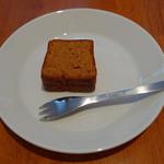 自家焙煎コーヒー くまきち - くまきちパティシエール特製スイーツ[キャラメル]