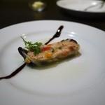 Banquet Restaurant FUKUROU - ズワイガニと茄子のミルフィーユ仕立て。