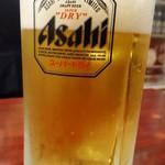 江戸川橋 加賀廣 - 生ビール