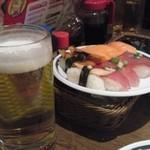 すたみな太郎 - 飲み放題の生ビールはビールではなくサントリー金麦です。