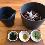 Oomurokeishokudou - とりてり丼