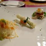 Kitchen cafe CRANBON - 前菜の盛り合わせ