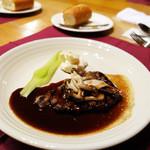 Kitchen cafe CRANBON - 大麦牛 オリジナルグルービーソース