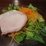 25896298 - 豚ロース肉の自家製ハムサラダ