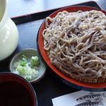 武者 - 料理写真:ドバ蕎麦(¥500)岩手では、量がとても多いという時に使う表現をどばっと,と言います♪
