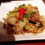 ナノリン - メイン①中華風焼肉…味はいいんですが量は少なめ〜