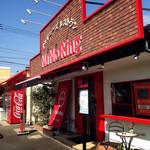 ナノリン - 先日、天気のいい日に撮ってたお店の外観…カジュアルなお店