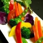 タルカリ - 全国からうまい野菜を集めたバーニャカウダ