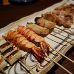 海鮮問屋 - 串焼きお勧め10本¥1300