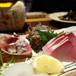 海鮮問屋 - お刺身八種盛¥2000
