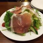 石窯キッチン HACCI - 生ハムのサラダ
