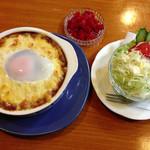 珈琲舎 - 料理写真:焼きカレー