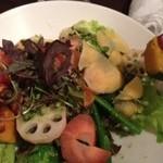25903093 - 加賀野菜と有機野菜のサラダ♪