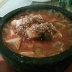ミッドウェイ - 石鍋麻婆豆腐ハンバーグ♪