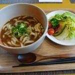 カレー屋麺八 - 近江野菜とかれーうどん800円