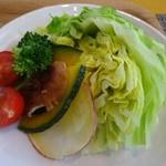 カレー屋麺八 - 近江野菜