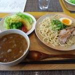 カレー屋麺八 - 近江野菜とつけ麺900円