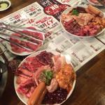 榮華亭 - 食べ放題スタートメニュー