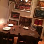 トラットリアチッチョ - 4人テーブル