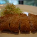 キッチン イトウ スタイル - 秀麗豚ロースの厚切り豚カツ(ライス付) レギュラー 1,500円
