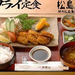 味処 双観山 - カキフライの定食!