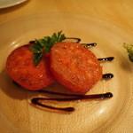 ビストロ ボクゥ - トマトのカプレーゼ