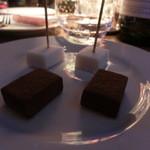 NEO SHOT BAR 深海の洞窟 - ●チョコレートはウィスキーに合うねぇ~