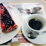 イタリアントマトカフェジュニア - 7種のブルーベリータルト&エスプレッソ