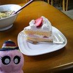 やまや - ショートケーキです。