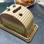 25917235 - ピスタチオとアーモンドのケーキ
