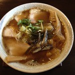 麺ゃ しき - 限定!九十九里浜煮干し醤油(880円)